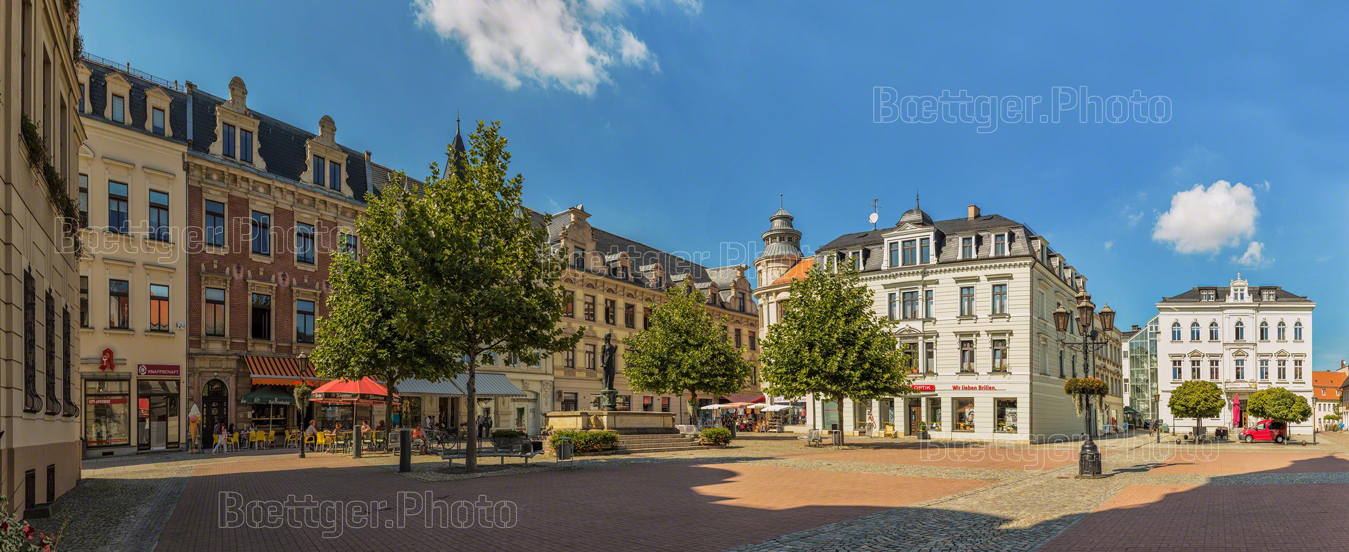 Crimmitschau Marktplatz