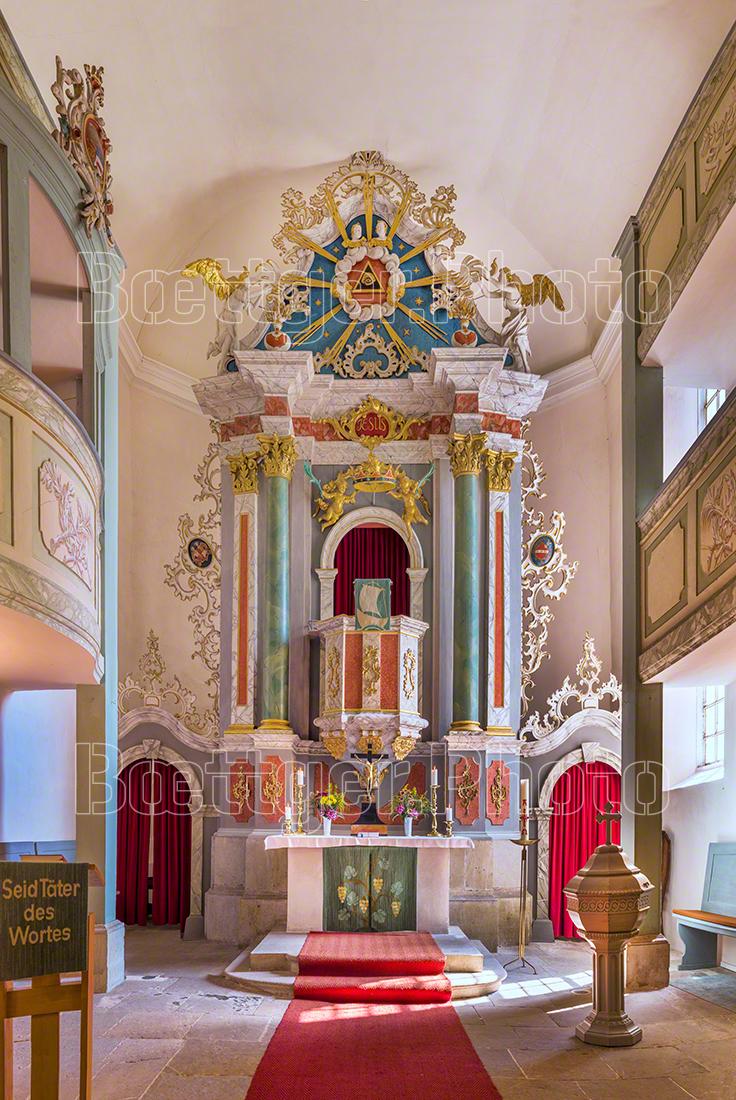 Kirche Burghardswalde Altar