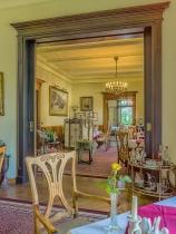 Crimmitschau Villa Vier Jahreszeiten Blick in Restaurant