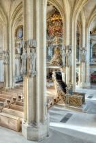 Dom St. Peter und Paul Zeitz - Blick auf Herzogsloge