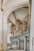 Dom St. Peter und Paul Zeitz - Blick zur Orgel rechts