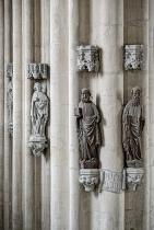 Dom St. Peter und Paul Zeitz Blick auf Stützpfeiler