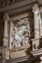 Kirche Lauenstein Altar Tod Jesu