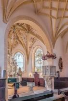 Kirche Lauenstein Blick in den Chorraum
