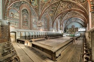 Kloster Wienhausen Blick in den Nonnenchor