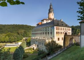 Schloss Weesenstein Ansicht von Süden
