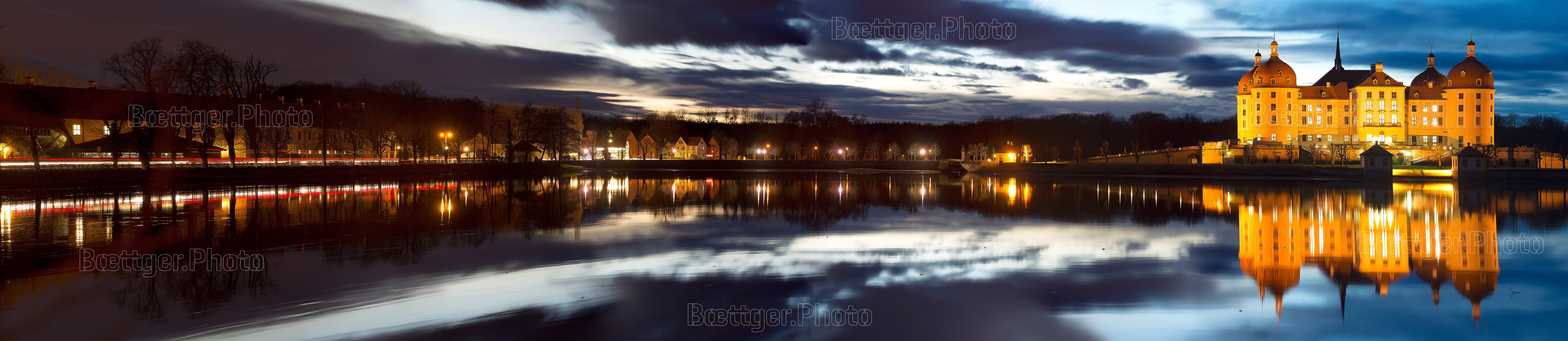 Abend am Jagdschloss