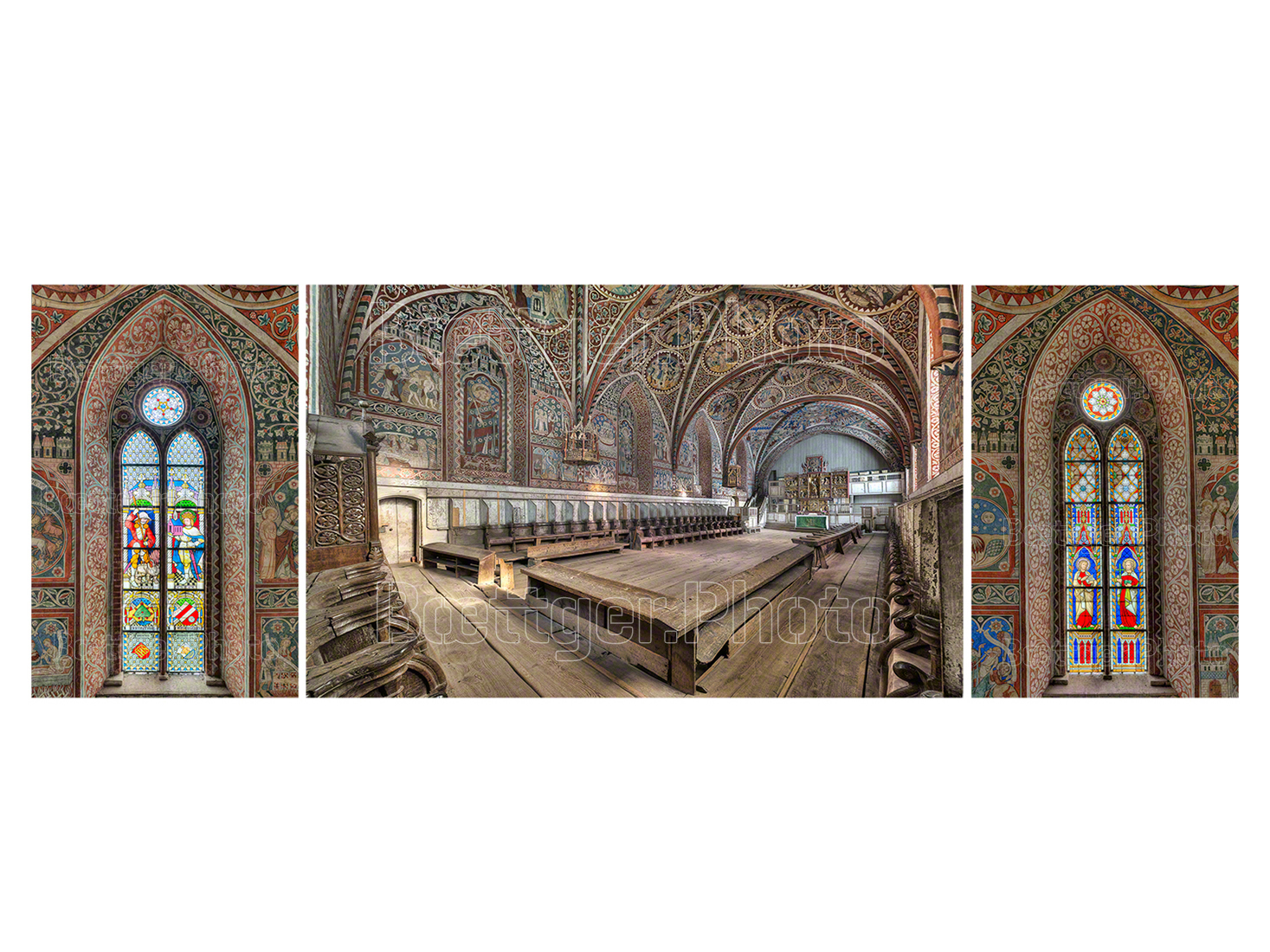 Kloster Wienhausen Nonnenchor Triptychon