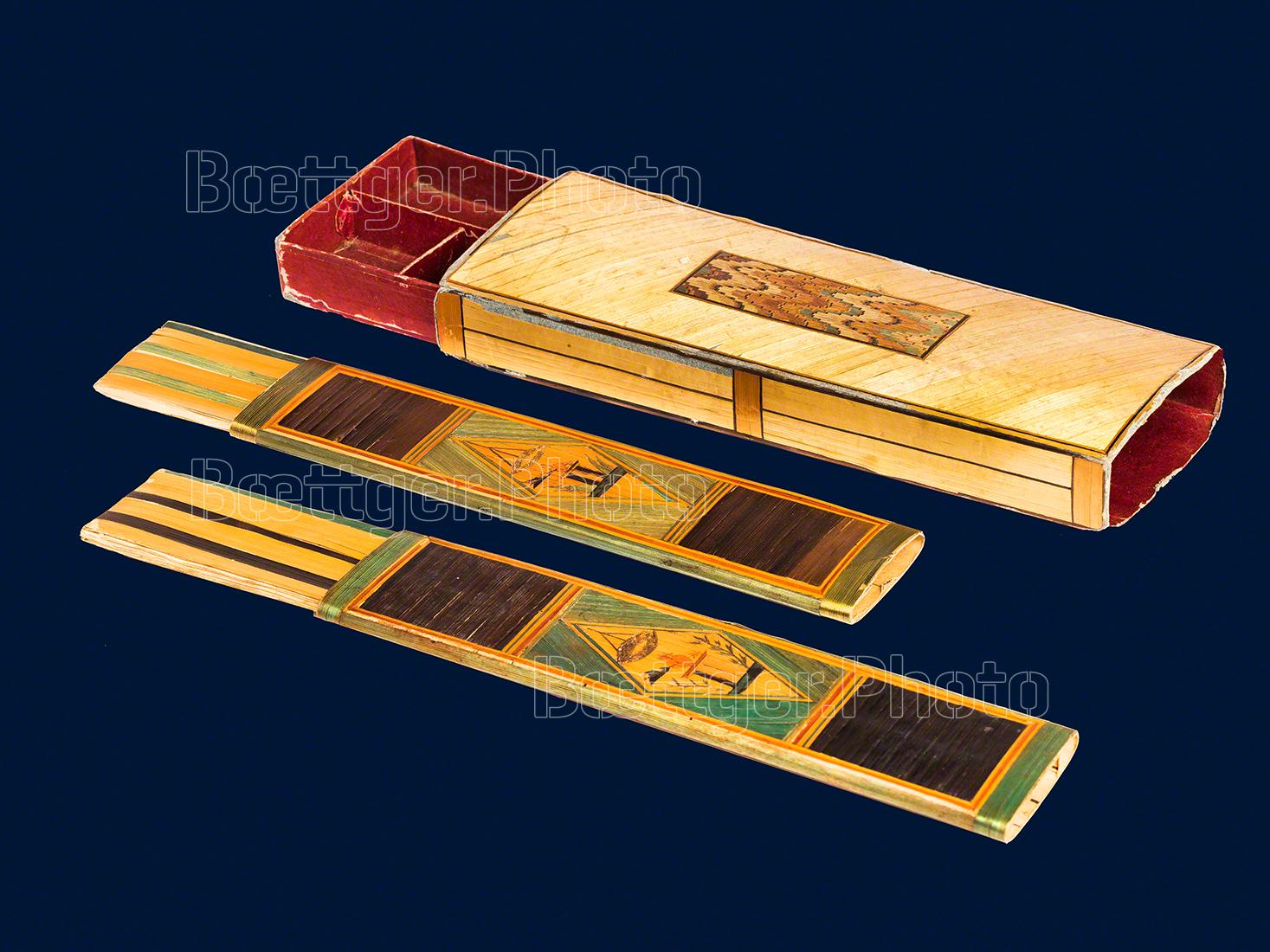 Stroh zu Gold - Etuis für Näh- und Schreibzubehör
