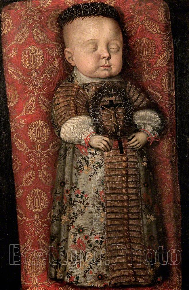 Totenbild Prinz Moritz von Sachsen